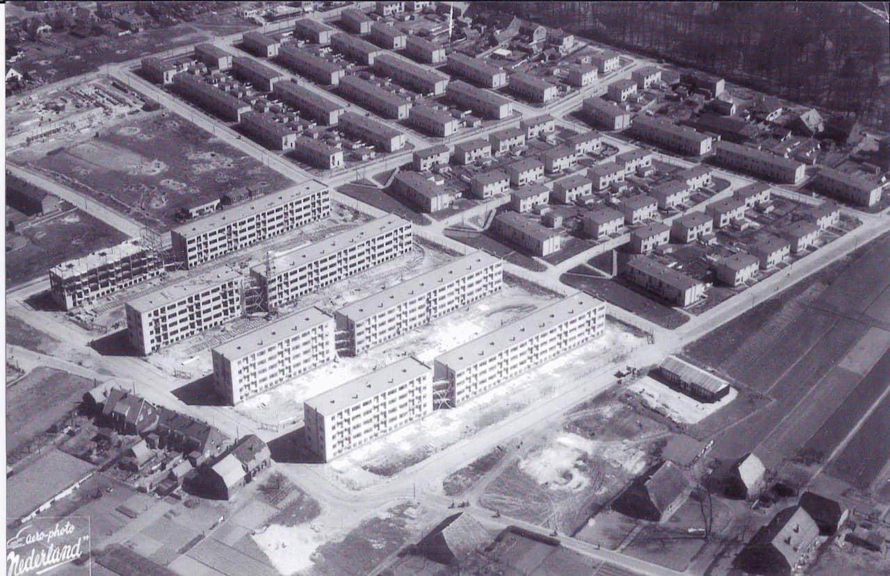 Heseveld Molenweg ca. 1954.